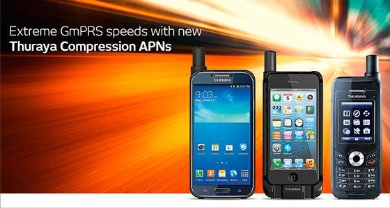 Thuraya GmPRS Double Internet Speed - Compression APNs