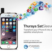 Thuraya SatSleeve iPhone 6 Available